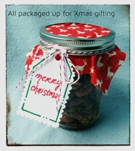 Christmas Seasoned Nuts in Jars for Gifting || A Year in the Kitchen